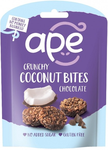 Ape Snacks Crunchy Bites Chocolate 30g