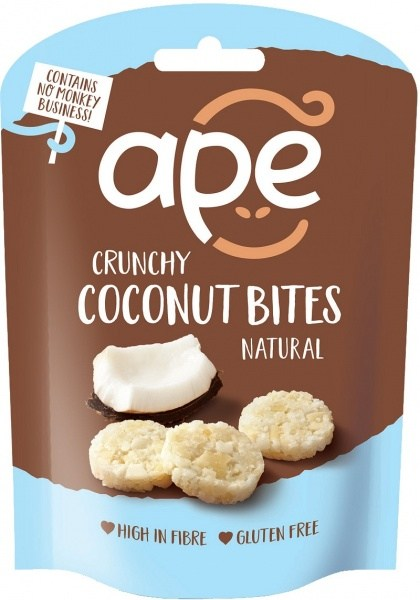 Ape Snacks Crunchy Bites Natural 30g