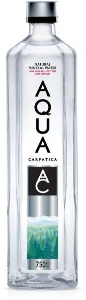 Aqua Carpatica Natural Mineral Water Glass Bottle 6x750ml