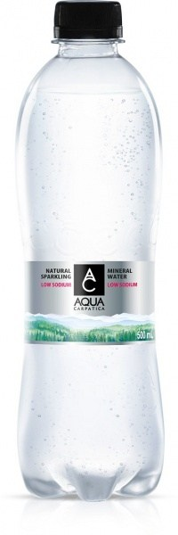 Aqua Carpatica Sparkling Natural Mineral Water PET 12x500ml