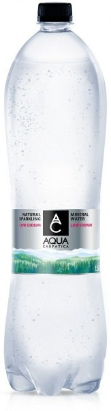 Aqua Carpatica Sparkling Natural Mineral Water PET 6x1.5L
