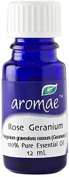 Aromae Rose Geranium Essential Oil 12mL