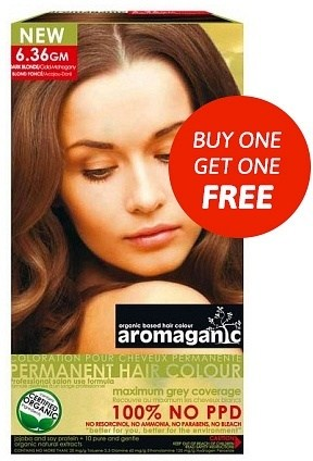 Aromaganic 6.36GM Dark Blonde (Gold Mohogany) AH