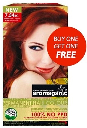 Aromaganic 7.54RC Blonde (Red Copper) AH
