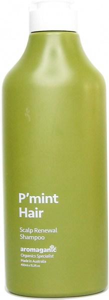 Aromaganic P'Mint Hair Scalp Renewal Shampoo 450ml