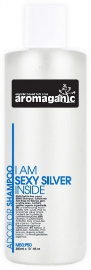 Aromaganic Sexy Silver Shampoo 300ml