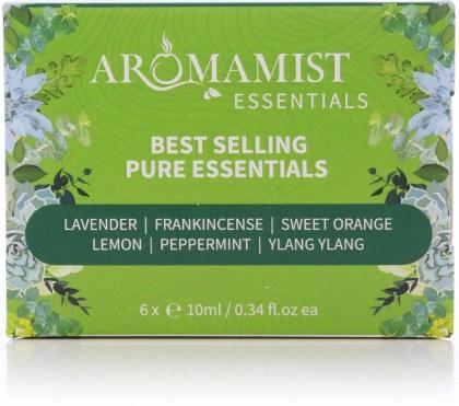 Aromamist Best Selling Pure Essentials (Lav, Frankin, SOrange, Lemon, PMint, Ylang Ylang)