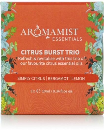 Aromamist Essentials Citrus Burst Trio (Simply Citrus, Bergamot, Lemon)