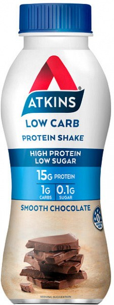 Atkins Advantage RTD Low Carb Protein Shake Chocolate 330ml