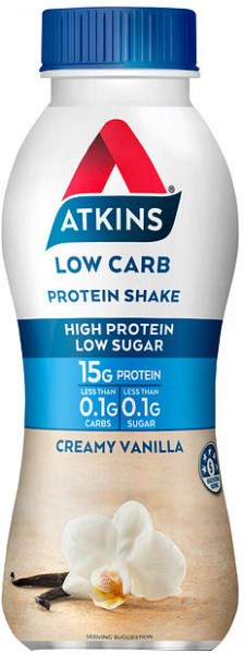 Atkins Advantage RTD Low Carb Protein Shake Vanilla 330ml
