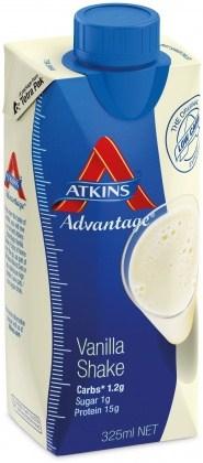Atkins Advantage Vanilla Shake 325ml