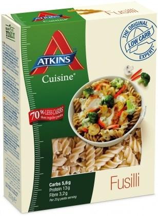 Atkins Cuisine Fusilli Pasta 250g