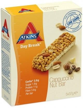 Atkins Day Break 5pk - Cappuccino Nut 185g