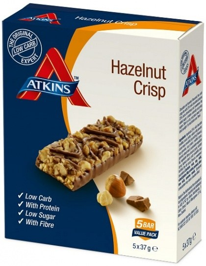 Atkins Day Break 5pk - Chocolate Hazelnut Crisp 185g