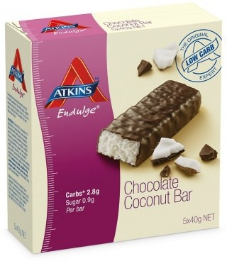 Atkins Endulge 5pk - Chocolate Coconut 200g