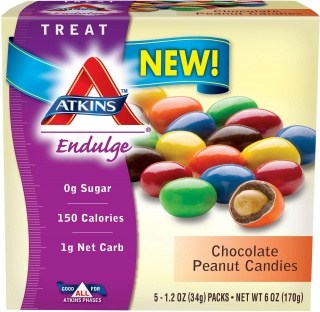 Atkins Endulge Chocolate Peanut Candies 5 Pack