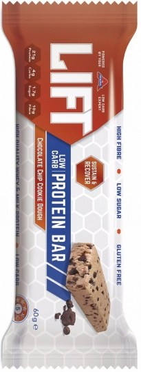 Atkins Lift Chocolate Chip Cookie Dough Protein Bar  15x60g