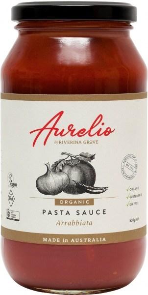 Aurelio Organic Arrabbiatta Pasta Sauce  500g