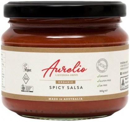Aurelio Organic Spicy Salsa  300g