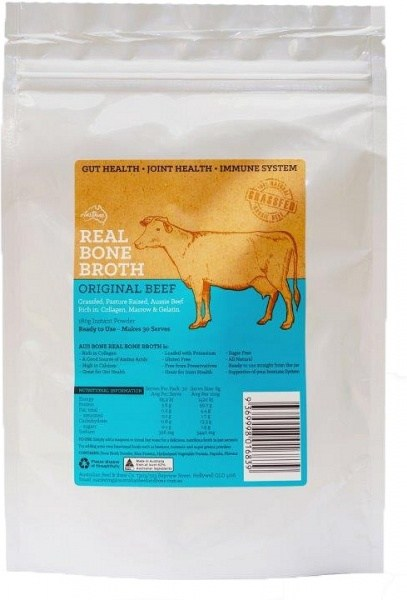 Aus Bone Real Bone Broth Original Beef 180g