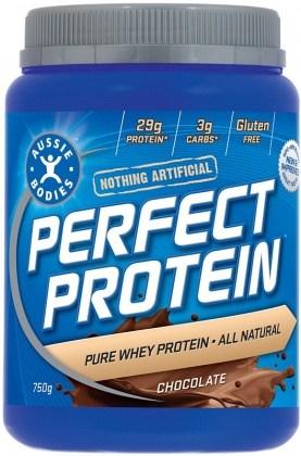 Aussie Bodies Perfect Protein Powder Chocolate 750g