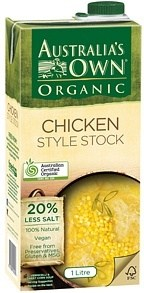 Australia's Own Organic Liquid Chicken Style Stock 1L