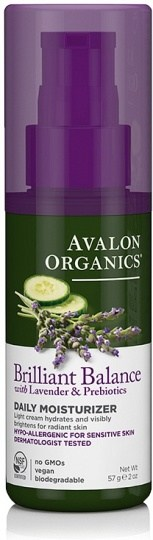 Avalon Organics Brilliant Balance Daily Moisturiser 57g