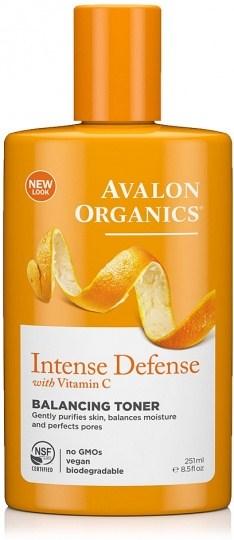 Avalon Organics Intense Defense with Vitamin C Balancing Toner 250ml