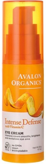 Avalon Organics Intense Defense with  Vitamin C Eye Cream 29g