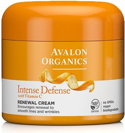 Avalon Organics Intense Defense with Vitamin C Renewal Cream 57g