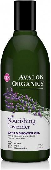 Avalon Organics Nourishing Lavender Bath & Shower Gel 350ml