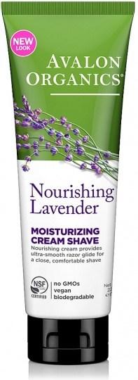 Avalon Organics Nourishing Lavender Moisturizing Shave Cream 225g