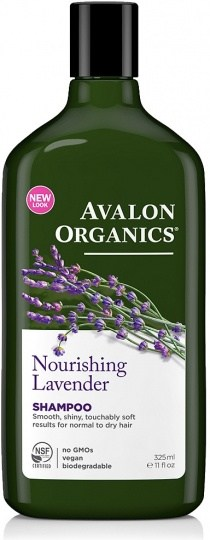 Avalon Organics Nourishing Lavender Shampoo 325ml