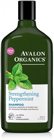 Avalon Organics Strengthening Peppermint Shampoo 325ml