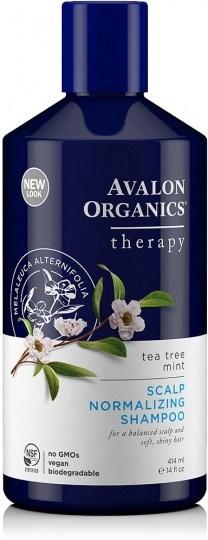 Avalon Organics Tea Tree Mint Scalp Normalizing Shampoo 400ml