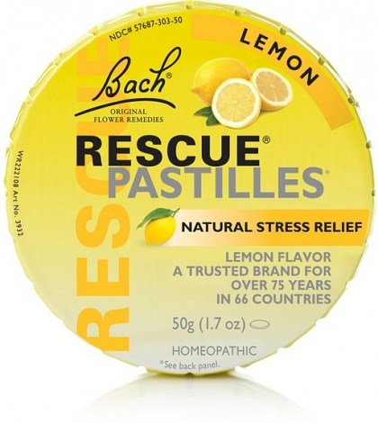 Bach Rescue Remedy Pastilles Lemon Single