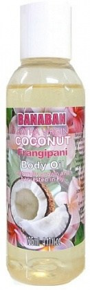 Banaban Extra Virgin Coconut Frangipani Body Oil 125ml