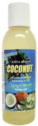 Banaban Extra Virgin Coconut Lemon Myrtle Body Oil 125ml