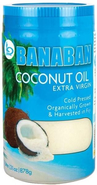 Banaban Extra Virgin Coconut Oil 1Ltr (Plastic)