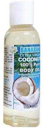 Banaban Extra Virgin Coconut Pure Massage Oil 125ml