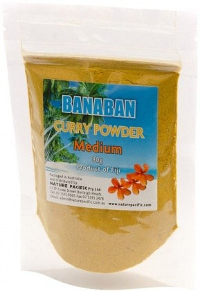 Banaban Fiji Curry Powder Medium 80g