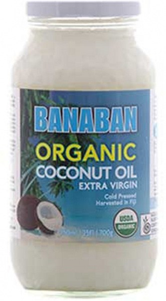 Banaban Gourmet Organic Coconut Oil 750ml