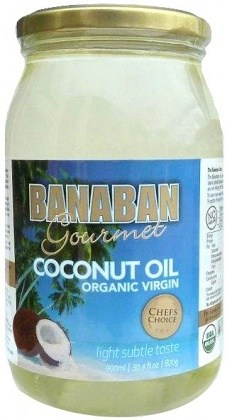 Banaban Gourmet Organic Virgin Coconut Oil 1L