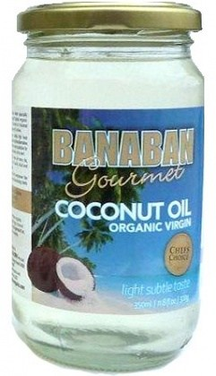 Banaban Gourmet Organic Virgin Coconut Oil 350ml