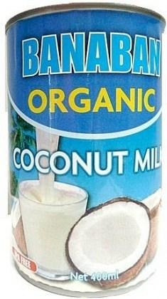Banaban Organic Coconut Milk 400ml
