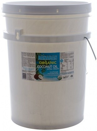 Banaban Organic Extra Virgin Coconut Oil 20L