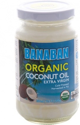 Banaban Organic Extra Virgin Coconut Oil 350ml
