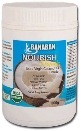 Banaban Organic Nourish Extra Virgin Coconut Oil Powder 300g