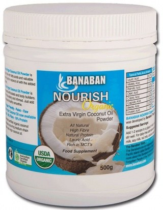 Banaban Organic Nourish Extra Virgin Coconut Oil Powder 500g