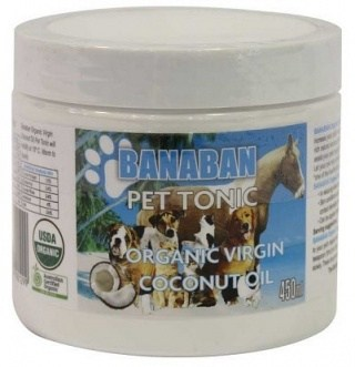 Banaban Pet Tonic Organic Virgin Coconut Oil 450ml